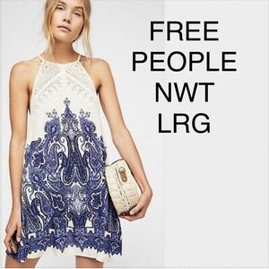 NWT FREE PEOPLE SHEA LARGE DRESS